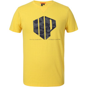 Icepeak Cray T-Shirt Heren, yellow